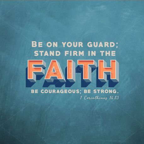 Stand Firm in the Faith (93737)