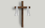 Cross with transparent shadow (93769)