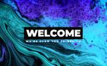 Welcome Blue Ink (93774)