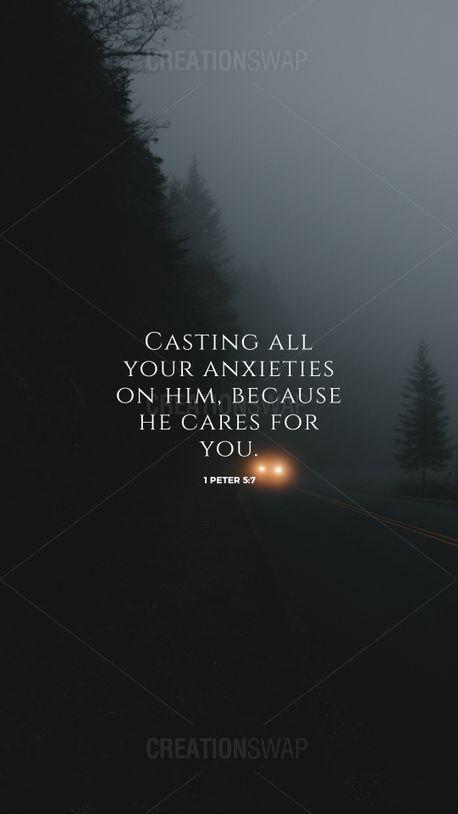 1 Peter 5:7 (93801)