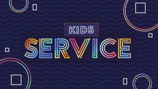Kids Service Title Graphics