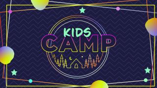 Kids Camp Title Graphics