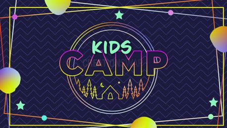 Kids Camp Title Graphics (93858)