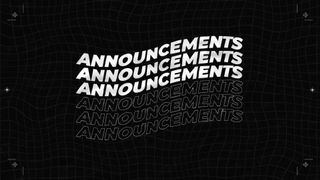 Announcements Wave