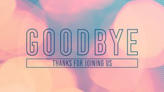 New Year : Goodbye