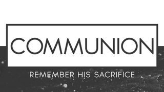 Clean BW : Communion