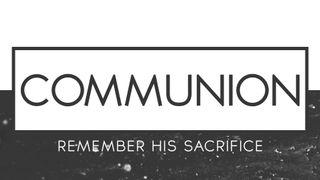 Clean BW : Communion