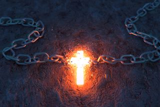 Cross breaking chain