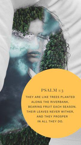 Psalm 1:3 | Inspirational Post