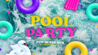 Pool Party Title Graphics