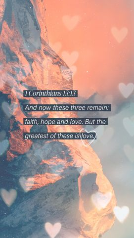 Valentines Scripture Post