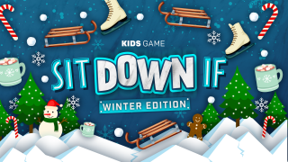 Sit Down If - Winter Game