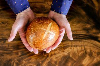 Hands + Bread