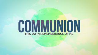 Pastel Communion Motion Slide