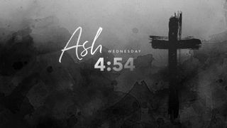 Ash Wednesday Countdown