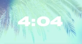 Palm Sunday Coutdown