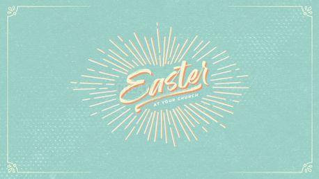 Easter Pastel Starburst (95993)