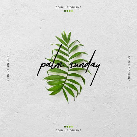 Palm Sunday  (96025)