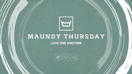 Maundy Thursday v6 Slides (96152)
