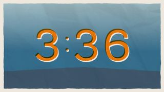 Blue Paper Countdown