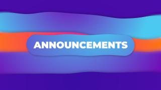 Announcements Gradient