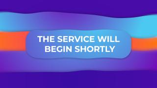 Service Will Begin Gradient