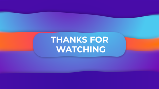 Thanks For Watching Gradient