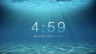 Underwater Baptism Countdown