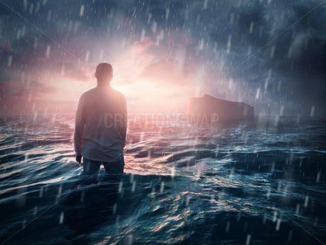 Man missing the ark (96671)