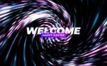 Dot Swirl Welcome (96781)