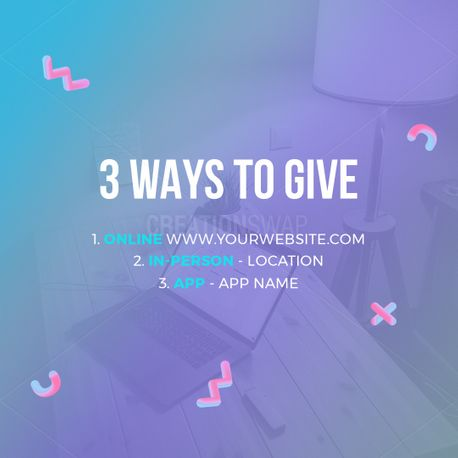 3 Ways to Give (96979)