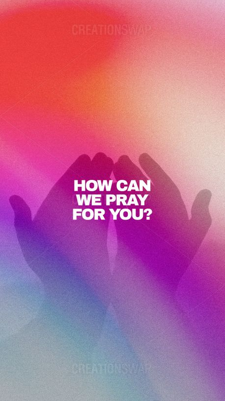 How Can We Pray For You? (96987)
