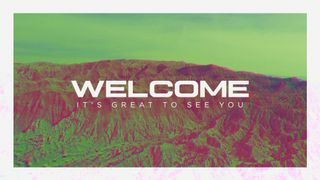 Distort Welcome Slide
