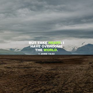 1 John 16:33