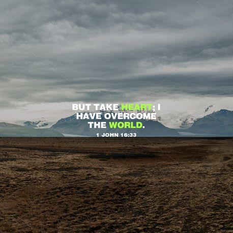 1 John 16:33 (97162)