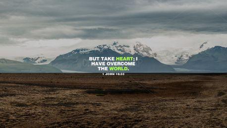 1 John 16:33  (97163)