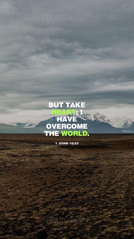 1 John 16:33  (97164)