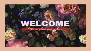 Floral Welcome Motion Slide