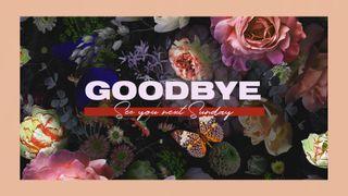 Floral Goodbye Motion Slide