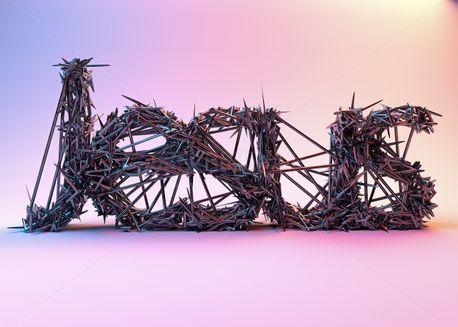 Jesus Word Art (97231)