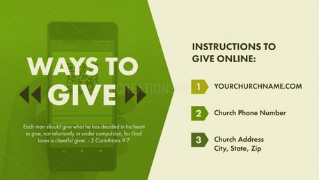 Ways to Give (97249)