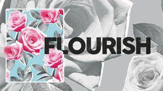 Flourish Sermon Series Art