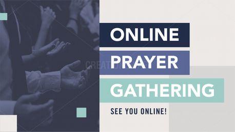 Online Prayer Gathering (97451)