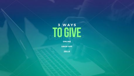 3 Ways To Give (97466)