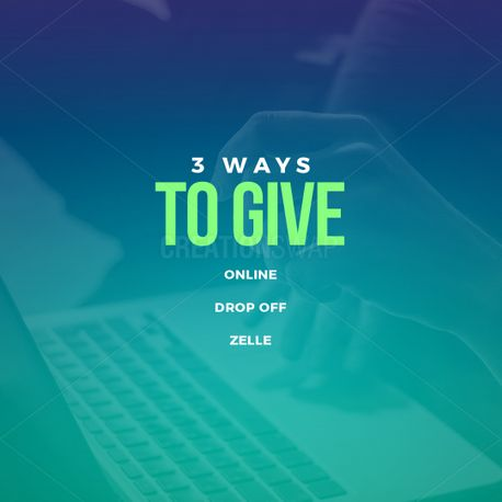 3 Ways To Give (97467)