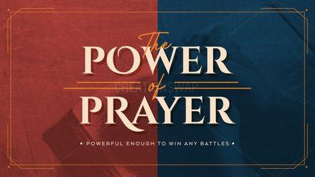 The Power of Prayer (97496)