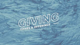 Blue River : Giving