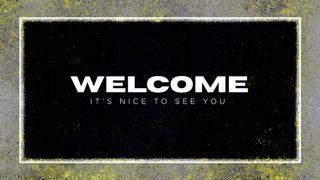 Grunge Welcome Slide