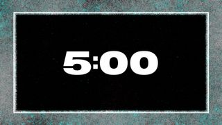 Grunge 5 Minute Countdown