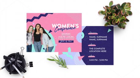 Women's Conference Postcard (97602)